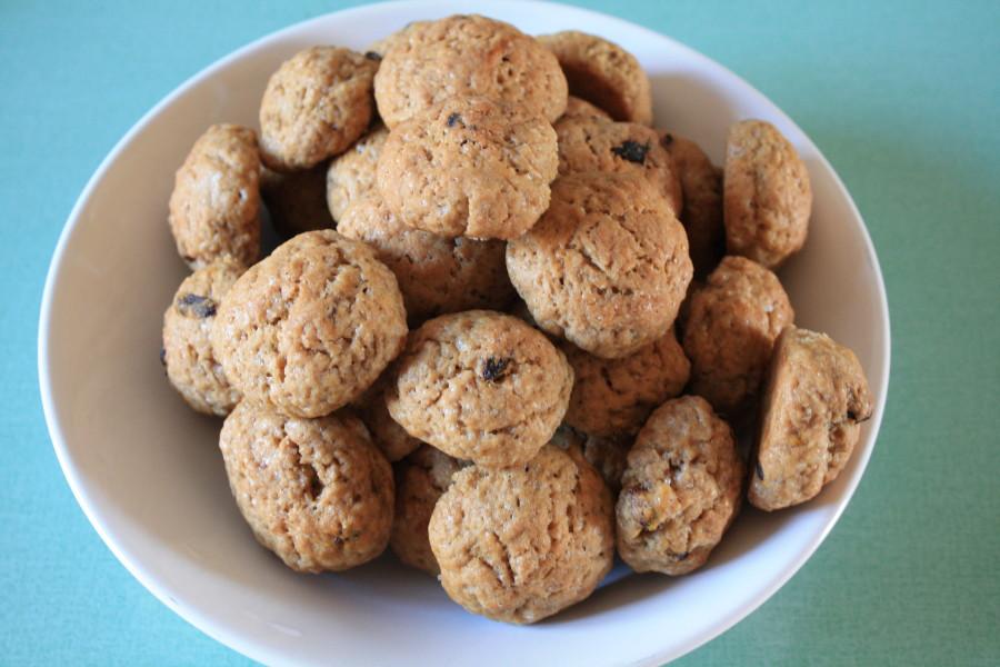 La mia ricetta: biscotti con goji e liquirizia